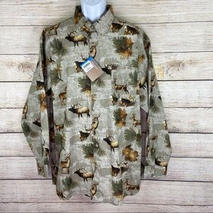 Columbia PHG Mens Size 2XL Hunting Shirt